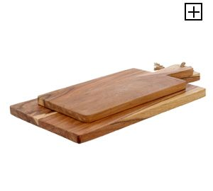 Linea Thrift Large & Medium Chopping Board