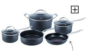 Jamie Oliver by Tefal Professional Series 5 Piece Set