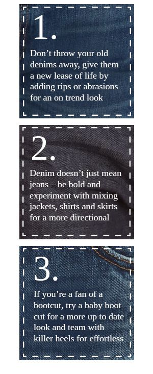 Denim Styling Tips
