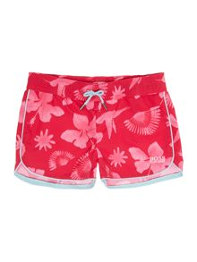 Girls set of swim suit and short