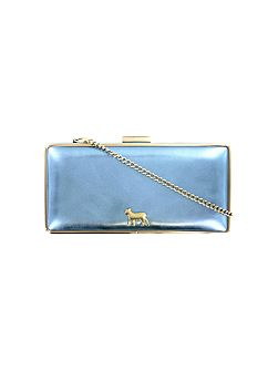 Princess cinderella blue medium clutch bag