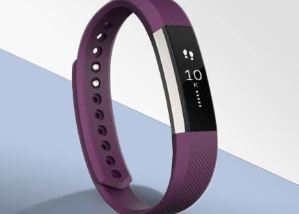 Fitbit Small Plum Alta Fitness Wristband