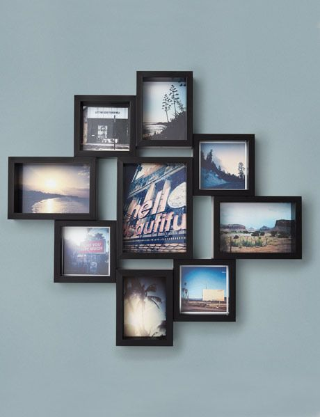 Gallery Wall of Framed Facebook Images