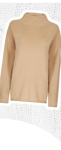 Howick 100% cashmere jumper in navy