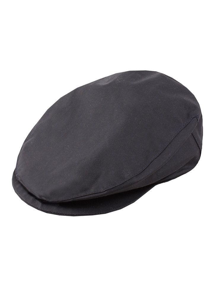 Waxed cotton hat