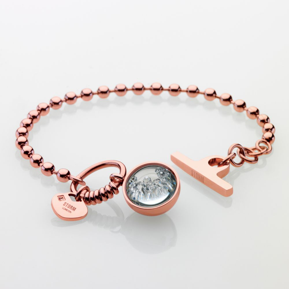 Crysta ball bracelet