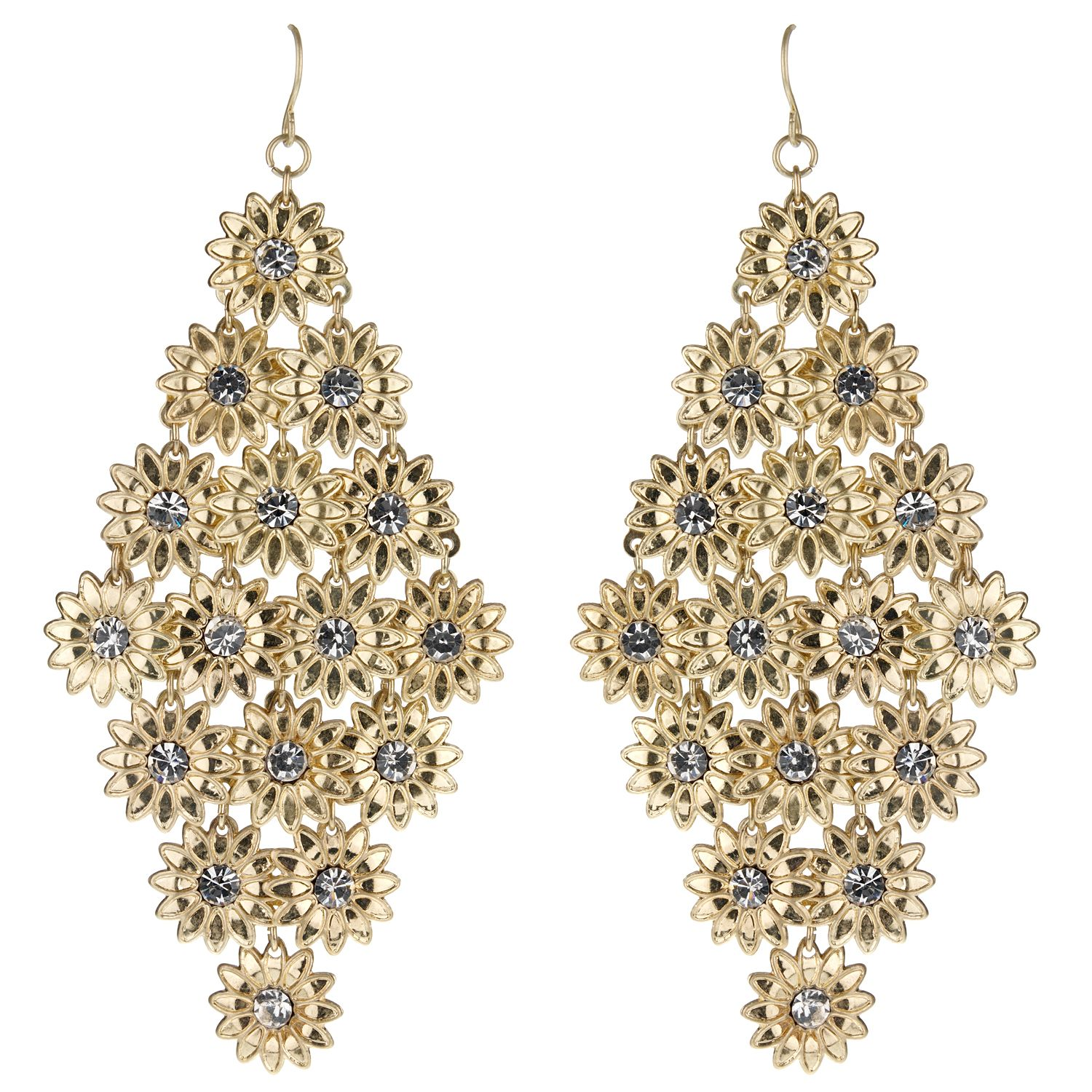 Mikey Cascading flower earrings product image