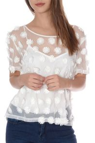 Daisy Applique Top