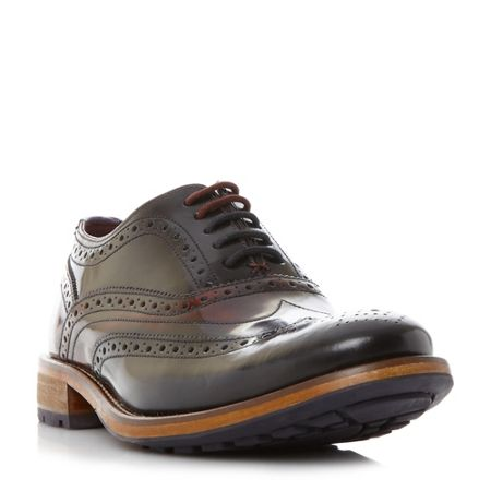 Ted Baker Krelly contrast sole lace up brogue