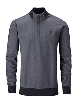 Kingsnorth half zip sweat