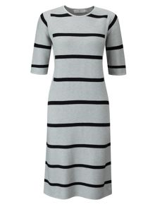 Henri Lloyd Liv Striped Knit Dress