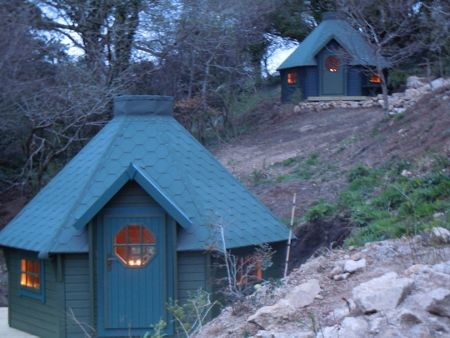 Buyagift Two night stay in a hobbit hut at acorn camping