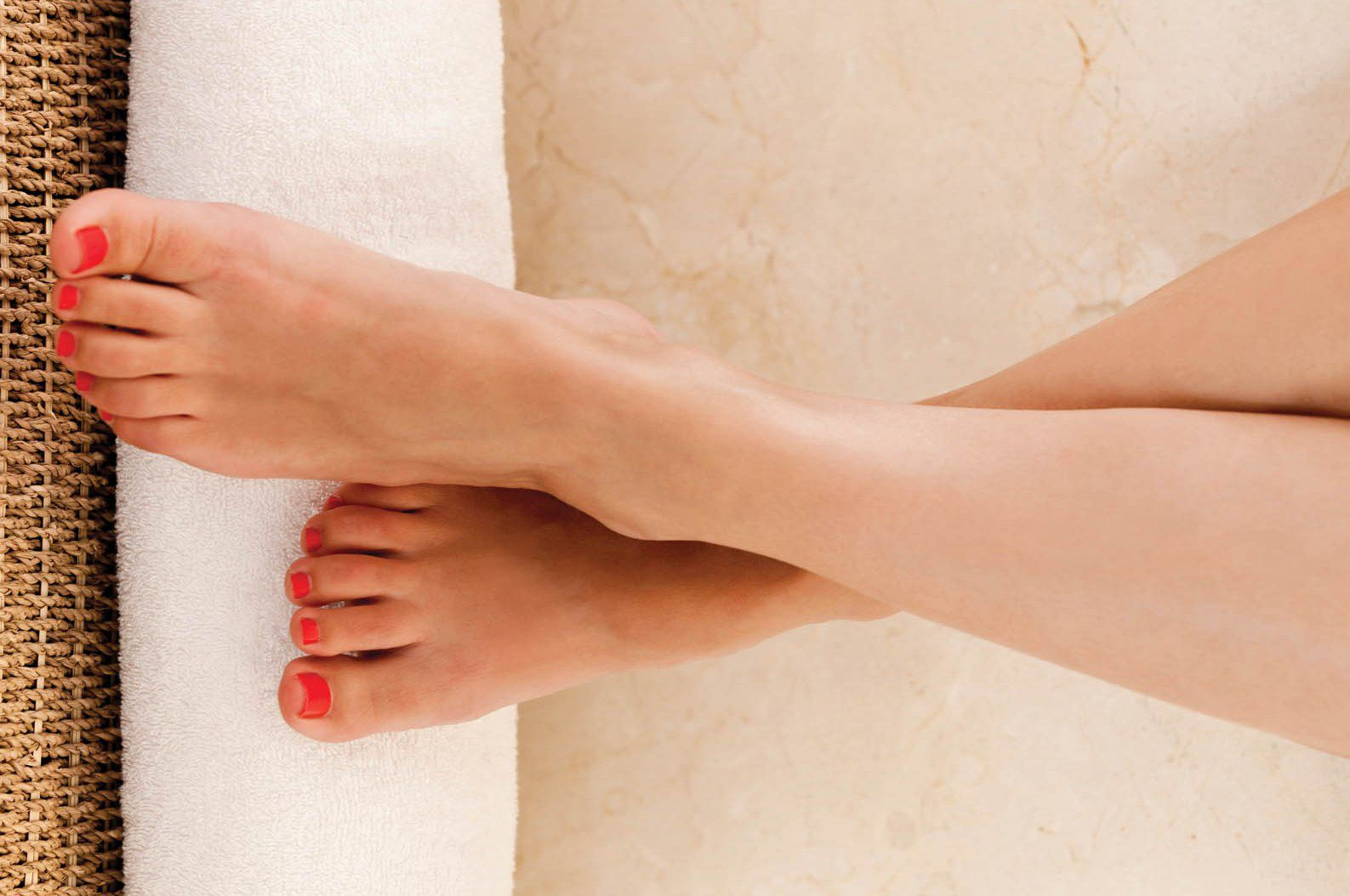 Champneys luxury pedicure