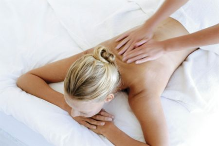 25 minute champneys back massage