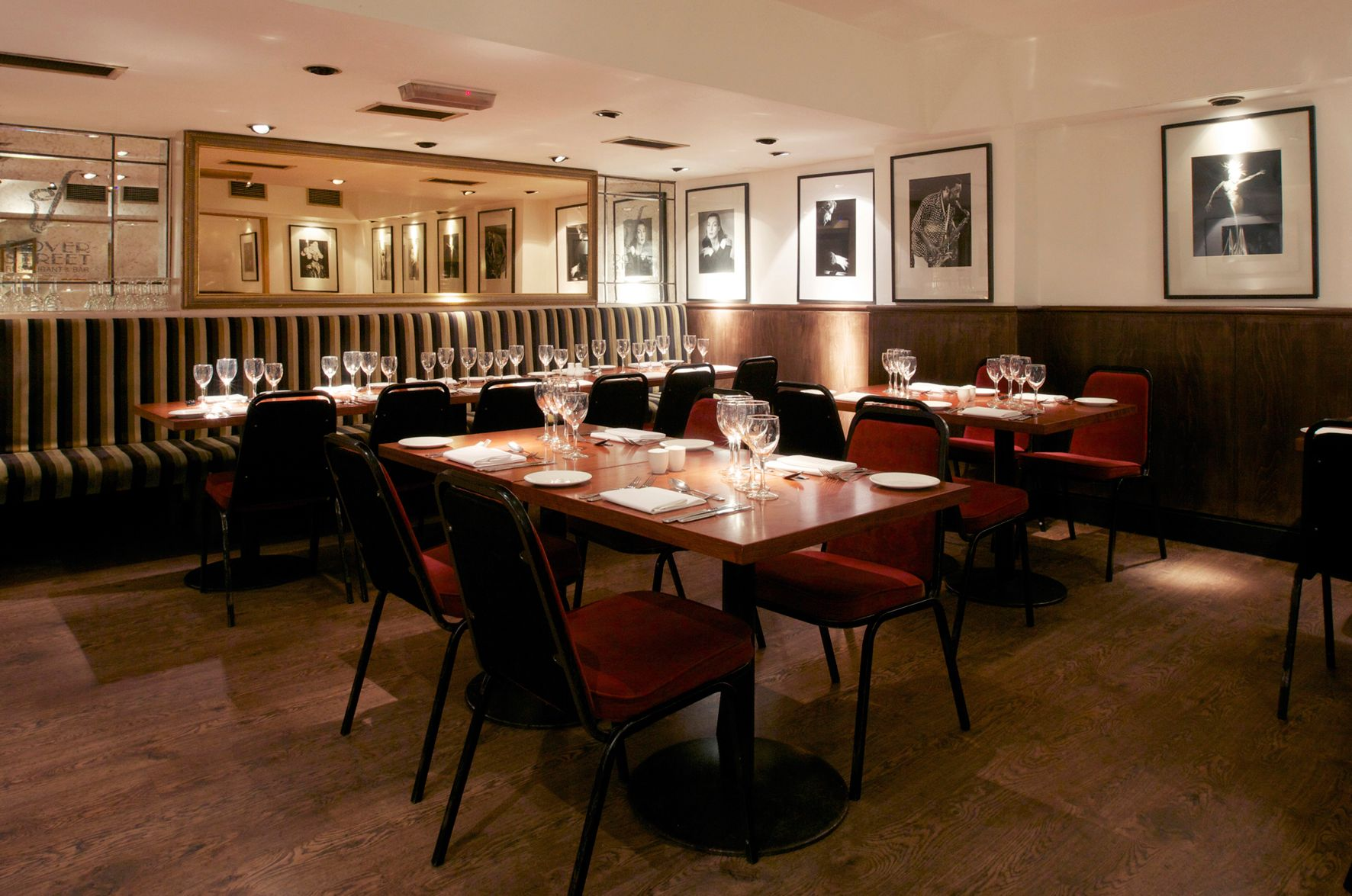 2 for 1 five course meal and cocktail at dover st