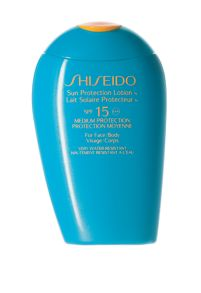 Shiseido Sun Protection Lotion For Face/Body SPF15 150ml