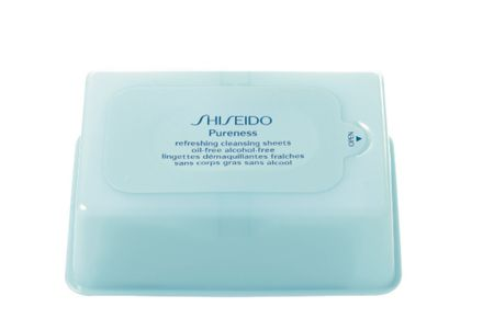 Shiseido 30 pureness refreshing cleansing sheets