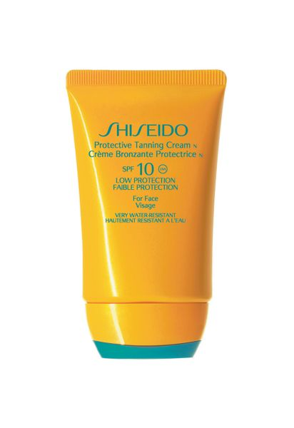 Shiseido Protective Tanning Cream For Face SPF10 50ml
