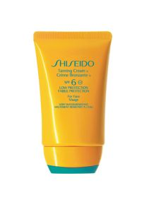 Shiseido Tanning Cream For Face SPF6 50ml