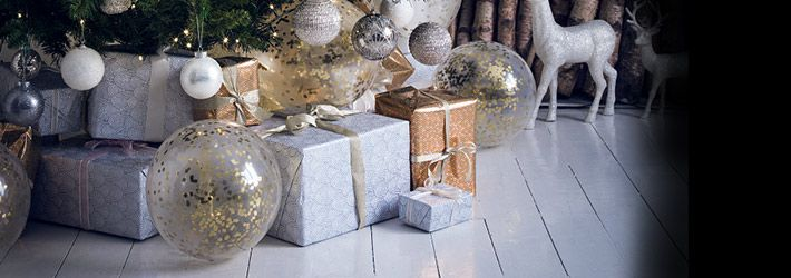 Christmas Wrapping Paper :: Luxury Gift Wrap Sets At House