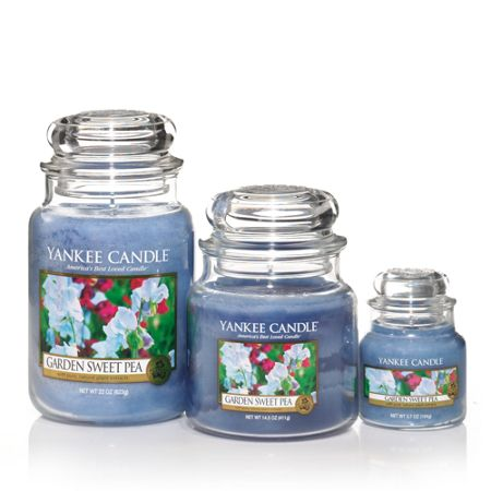 Yankee Candle Large garden sweet pea housewarmer candle
