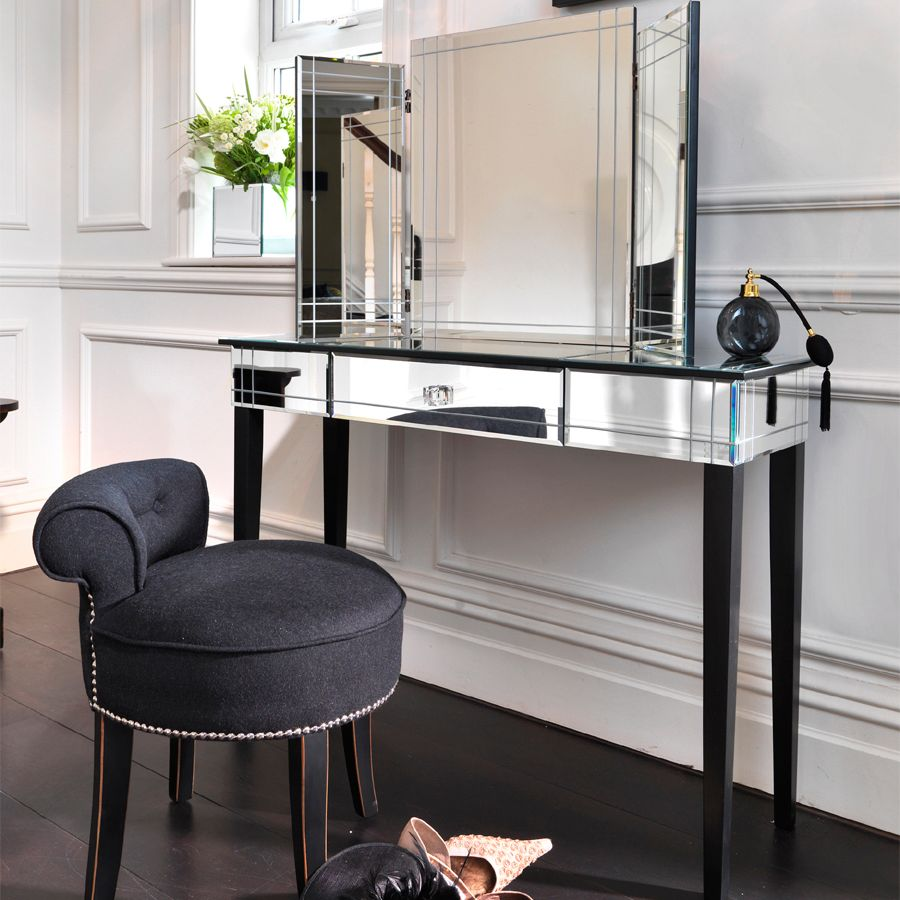 Art Deco Mirrored Furniture Collection