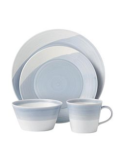 Royal Doulton 1815 blue 16 piece set
