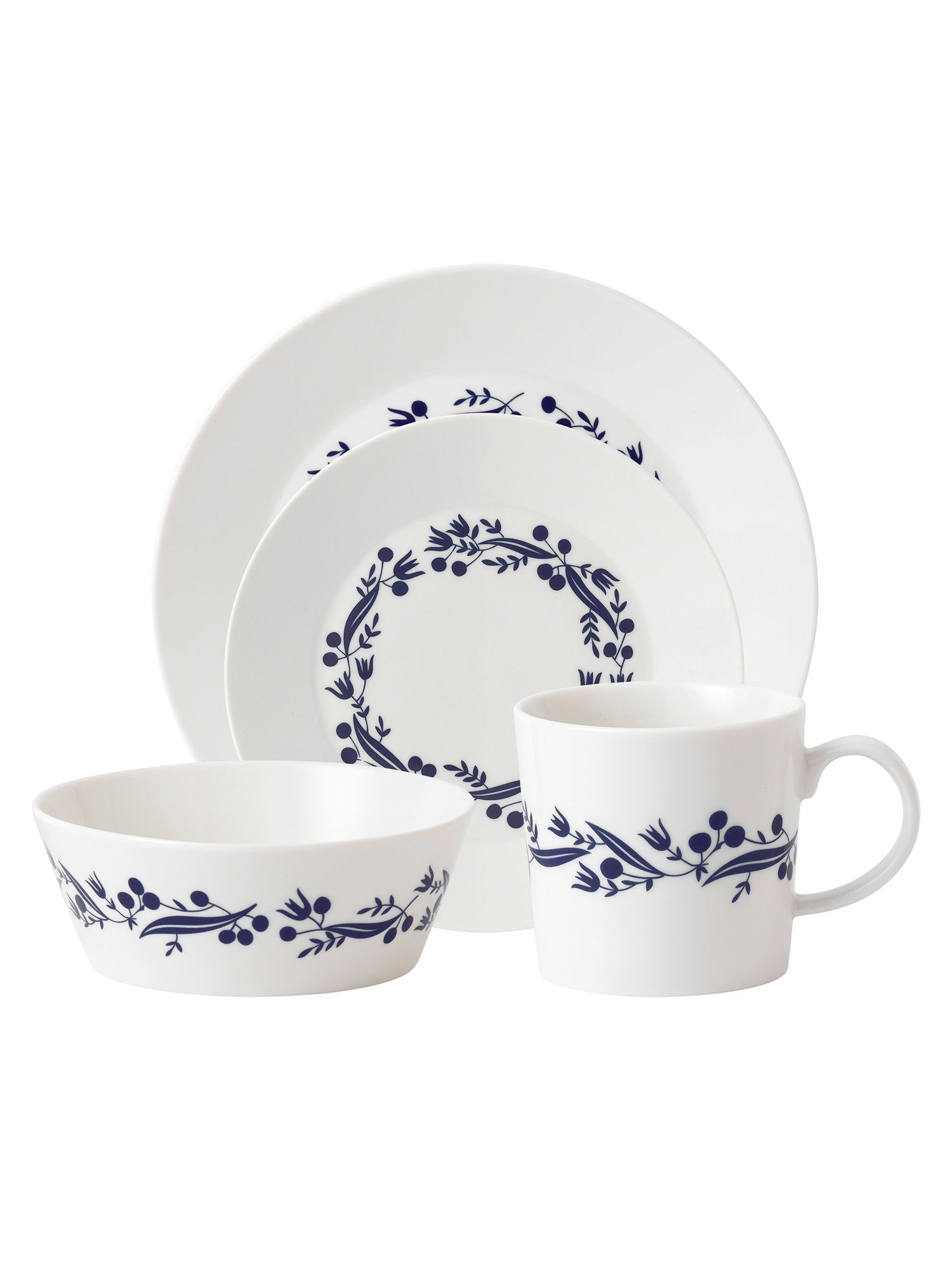 Fable garland dinnerware range