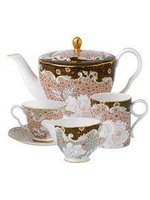 Daisy tea story teacup & saucer blue