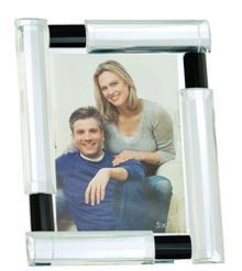 Galway Galway Black & Clear Glass Frame Range