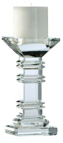 Majestic Clear Crystal Candle Range