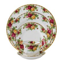 Old country roses dinnerware