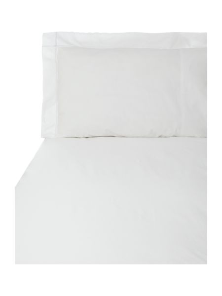 Yves Delorme Athena blanc single flat sheet