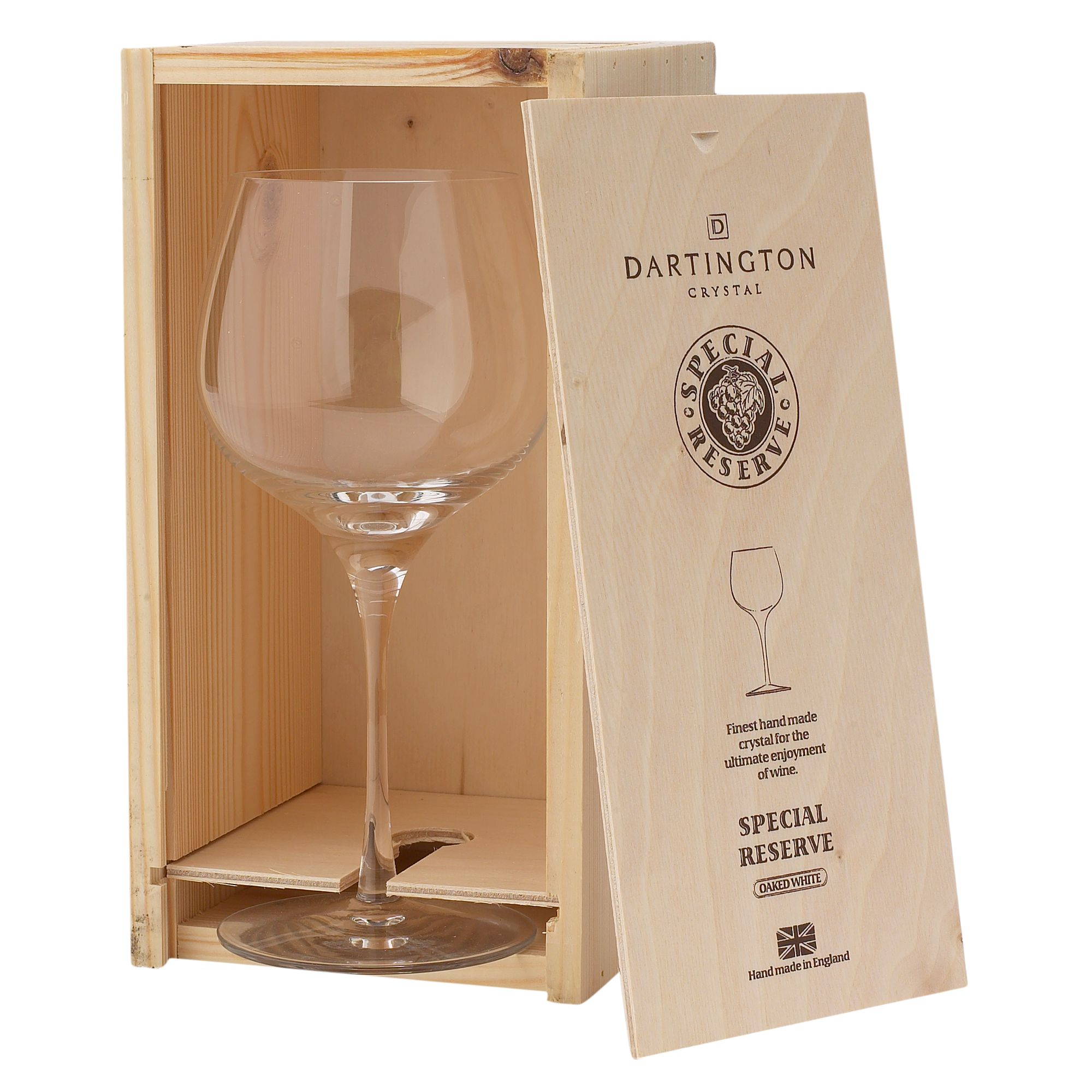 Linea Dartington Special Reserve Rhone/Shiraz wine glass