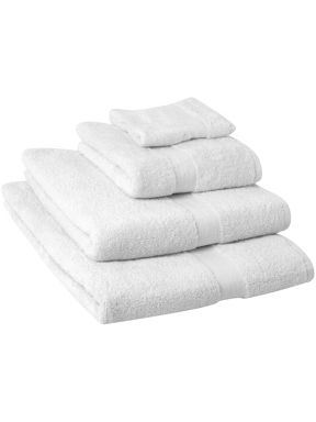 Linea Supima towels in white