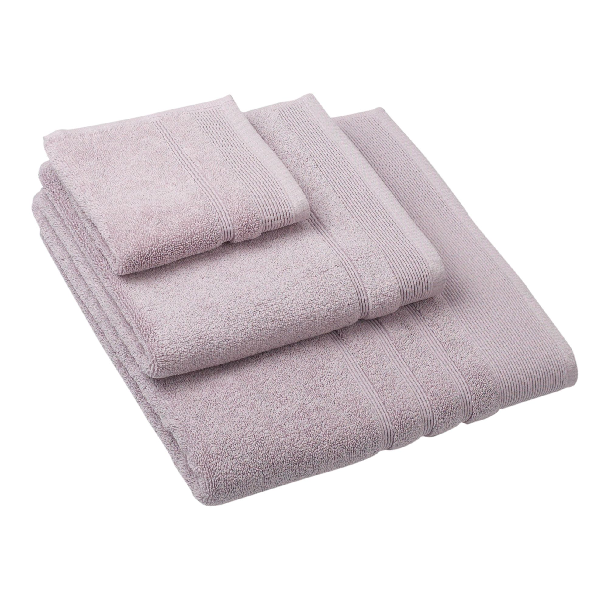 Linea Retreat bath towel in lavender