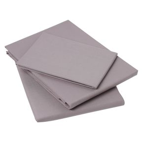 Linea 100% cotton percale bed linen ameythst