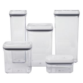 OXO Good Grips Good Grip food storage set in Clear