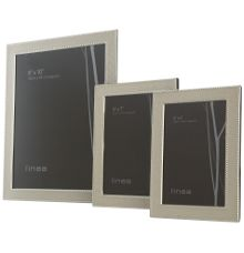 Linea Beaded enamel picture frames