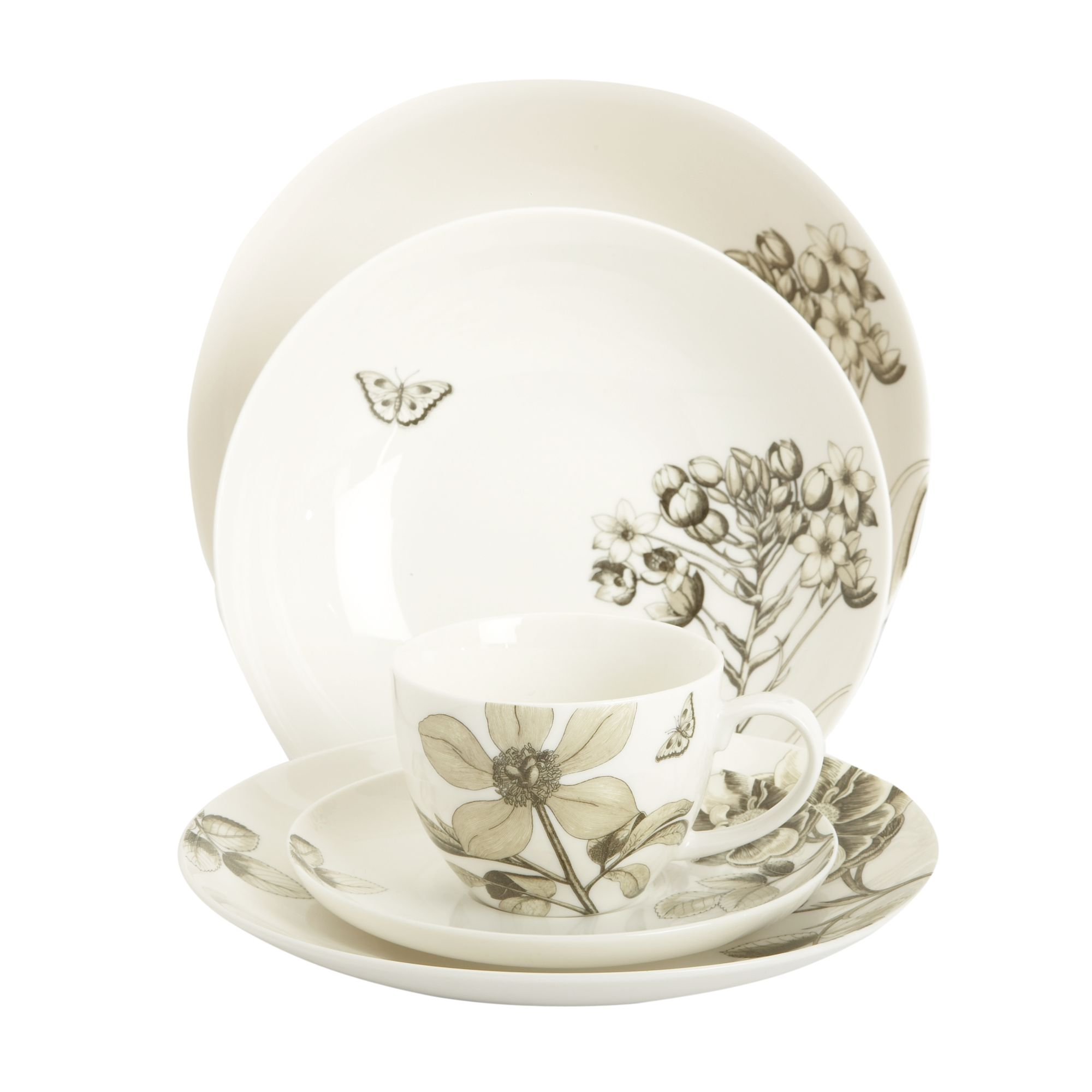 MaxMara Weekend Churchill Etchings and Roses salad bowl product image