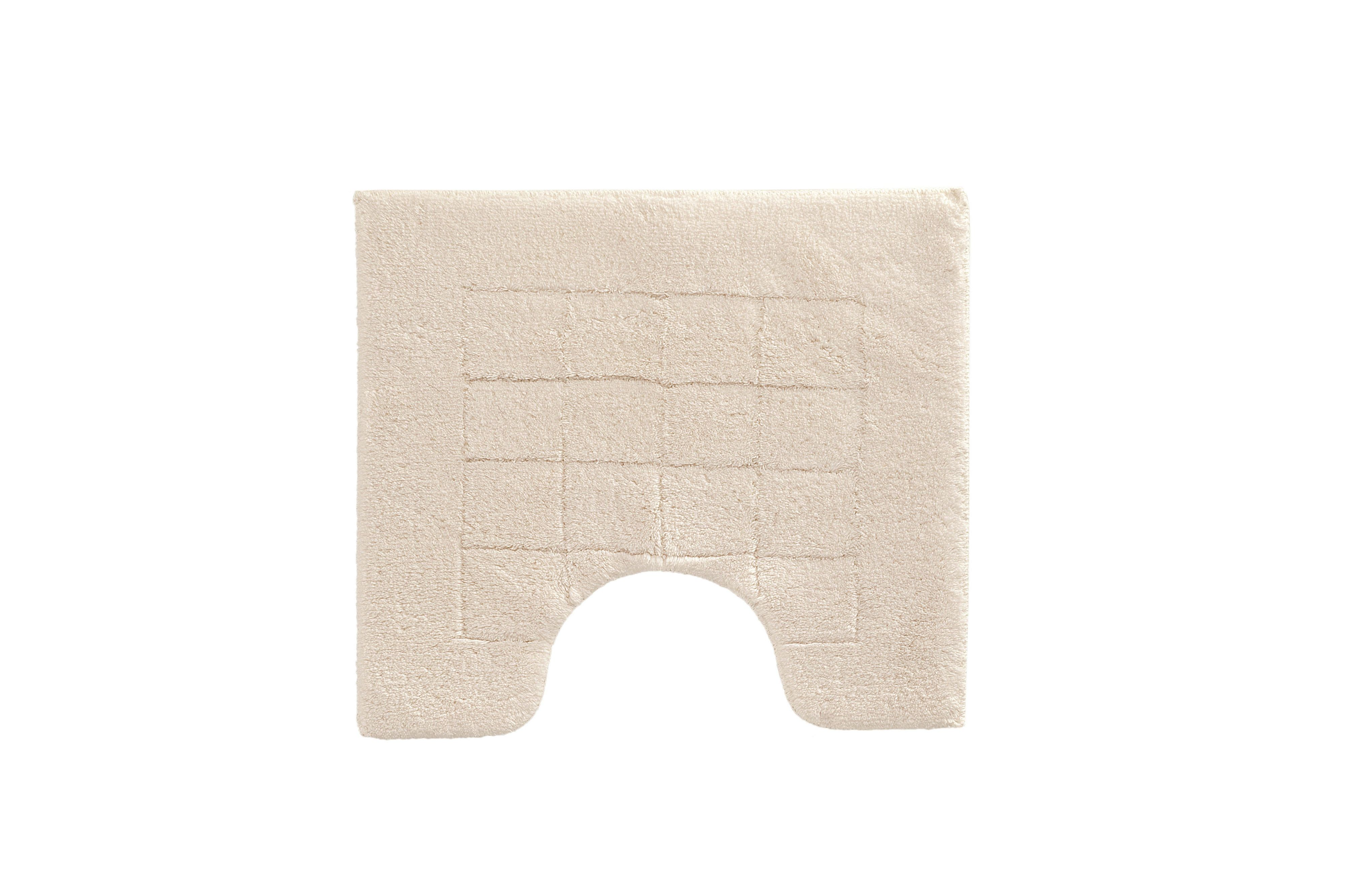 Exclusive bath mat range in white