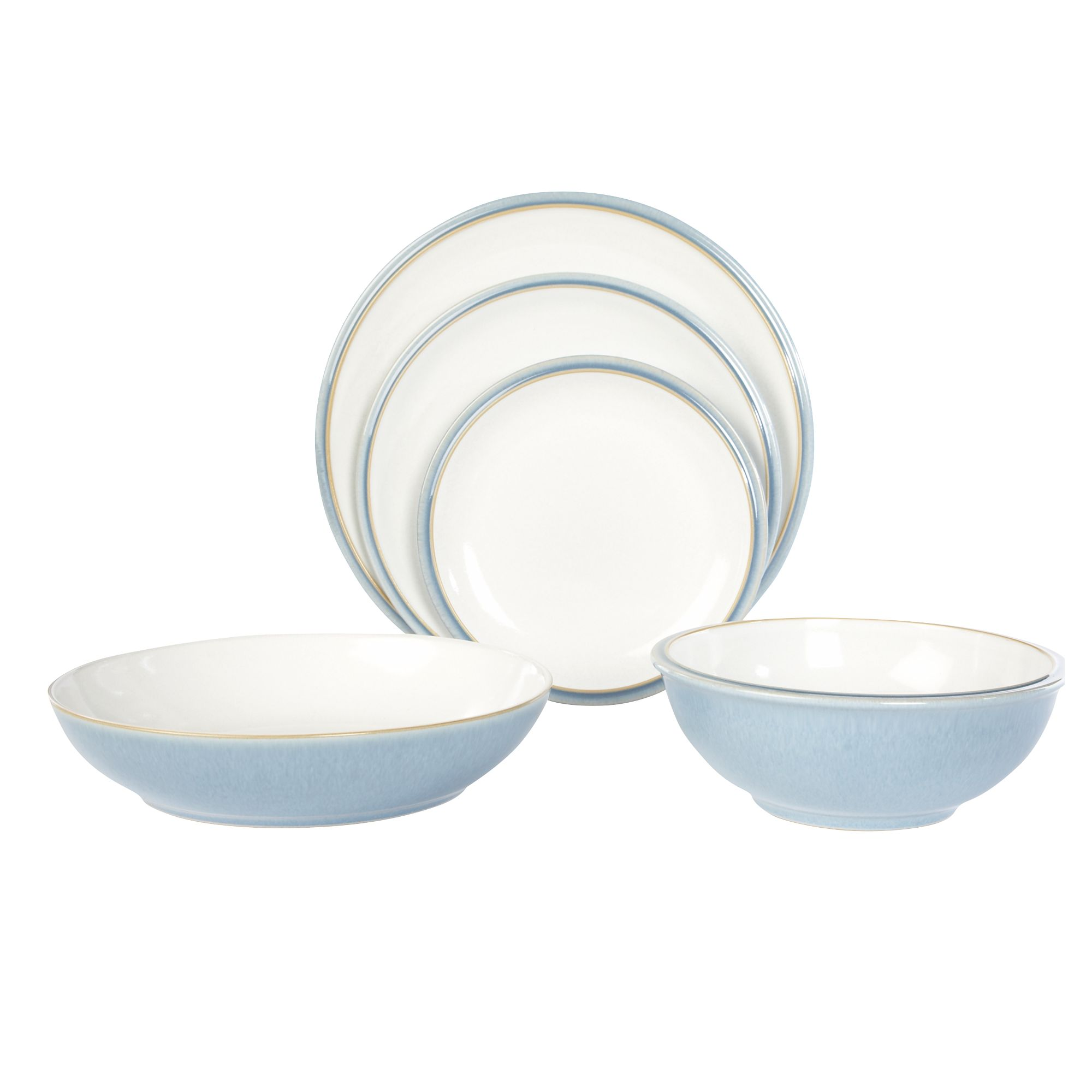 White Jetty Dinnerware in white