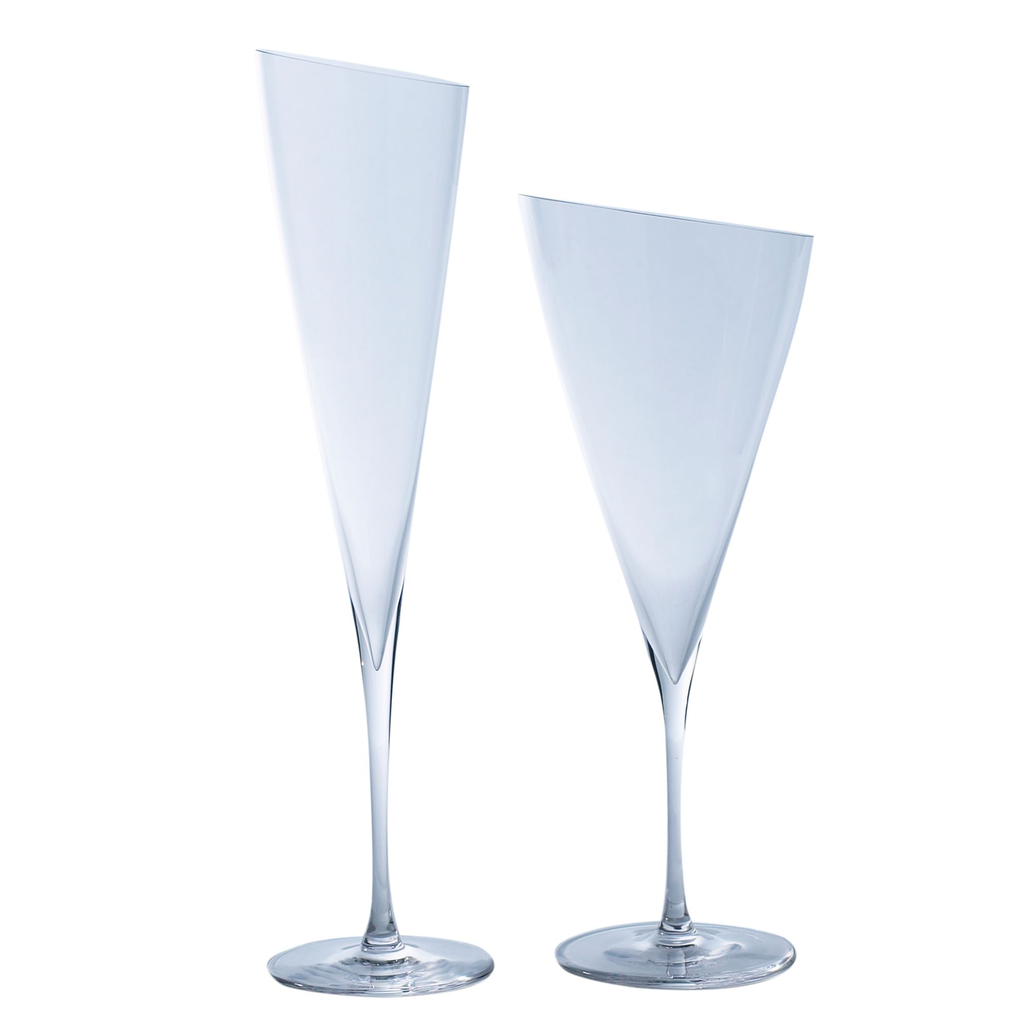 Linea Angle cut red wine glass