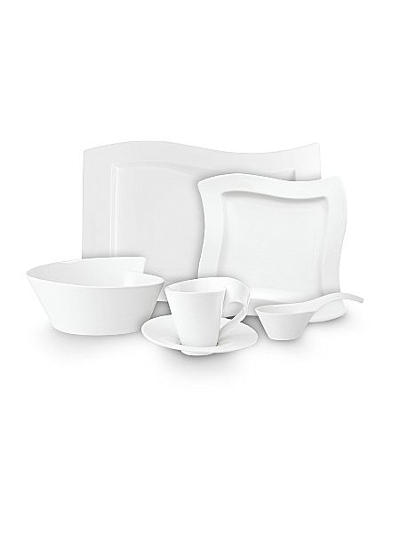 villeroy boch new wave dinnerware range house of fraser. Black Bedroom Furniture Sets. Home Design Ideas