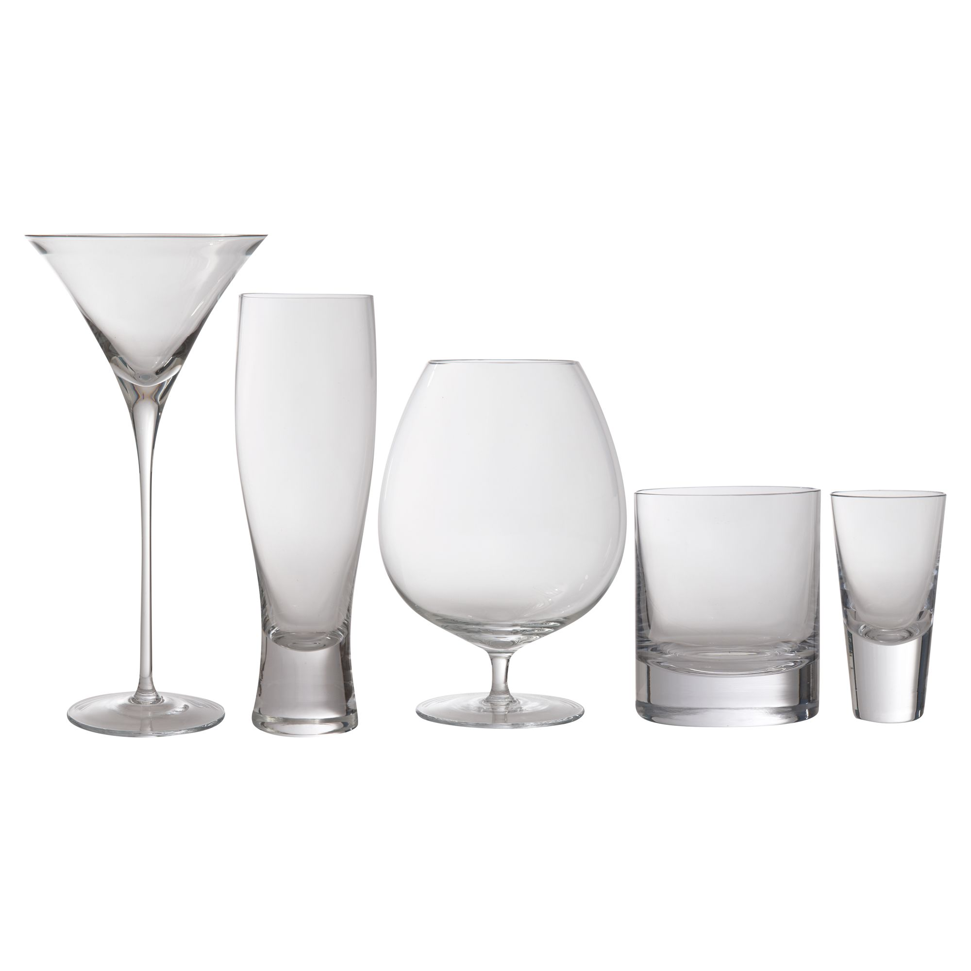 Bar Collection set of four Brandy glasses