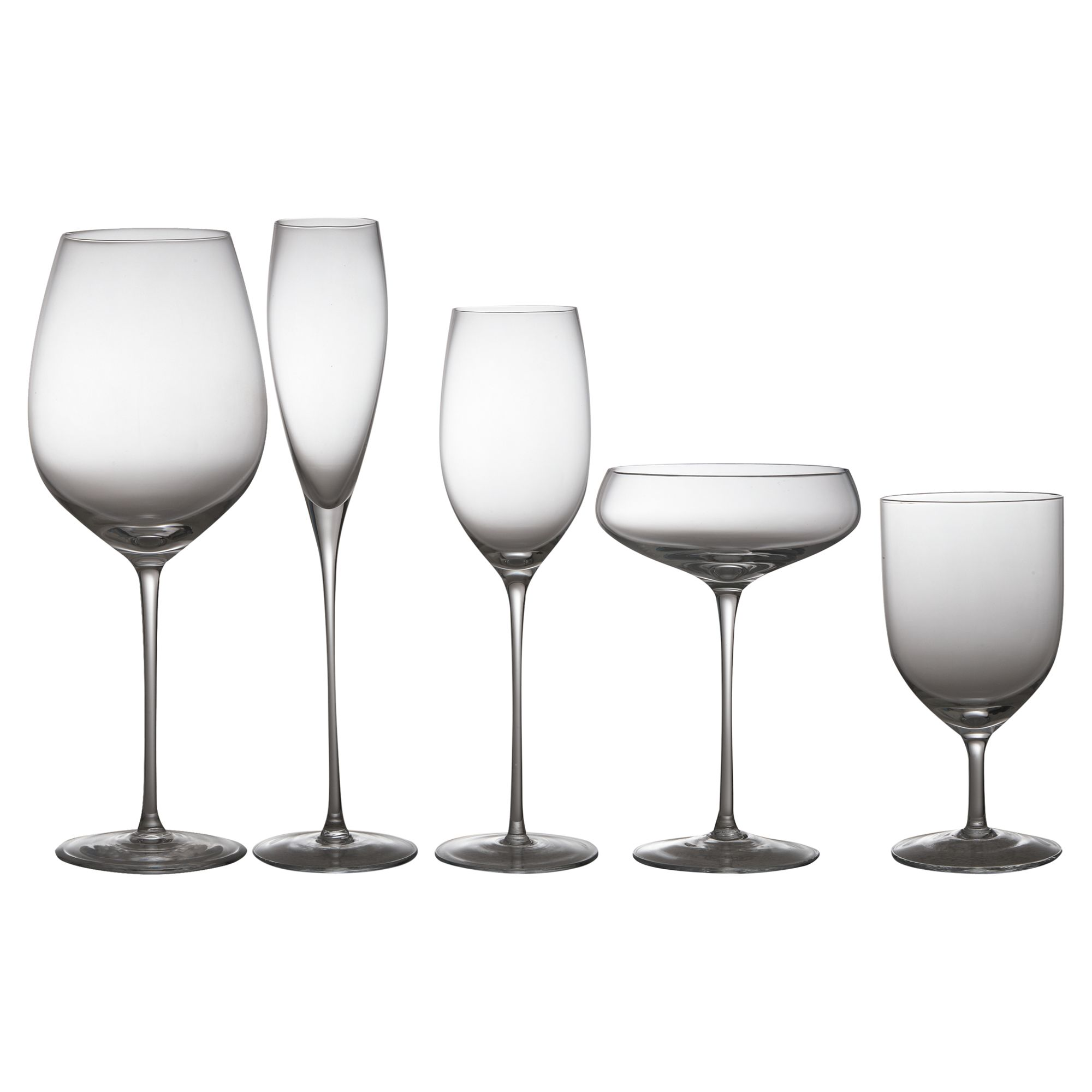 LSA Wine collection set of four red wine goblets