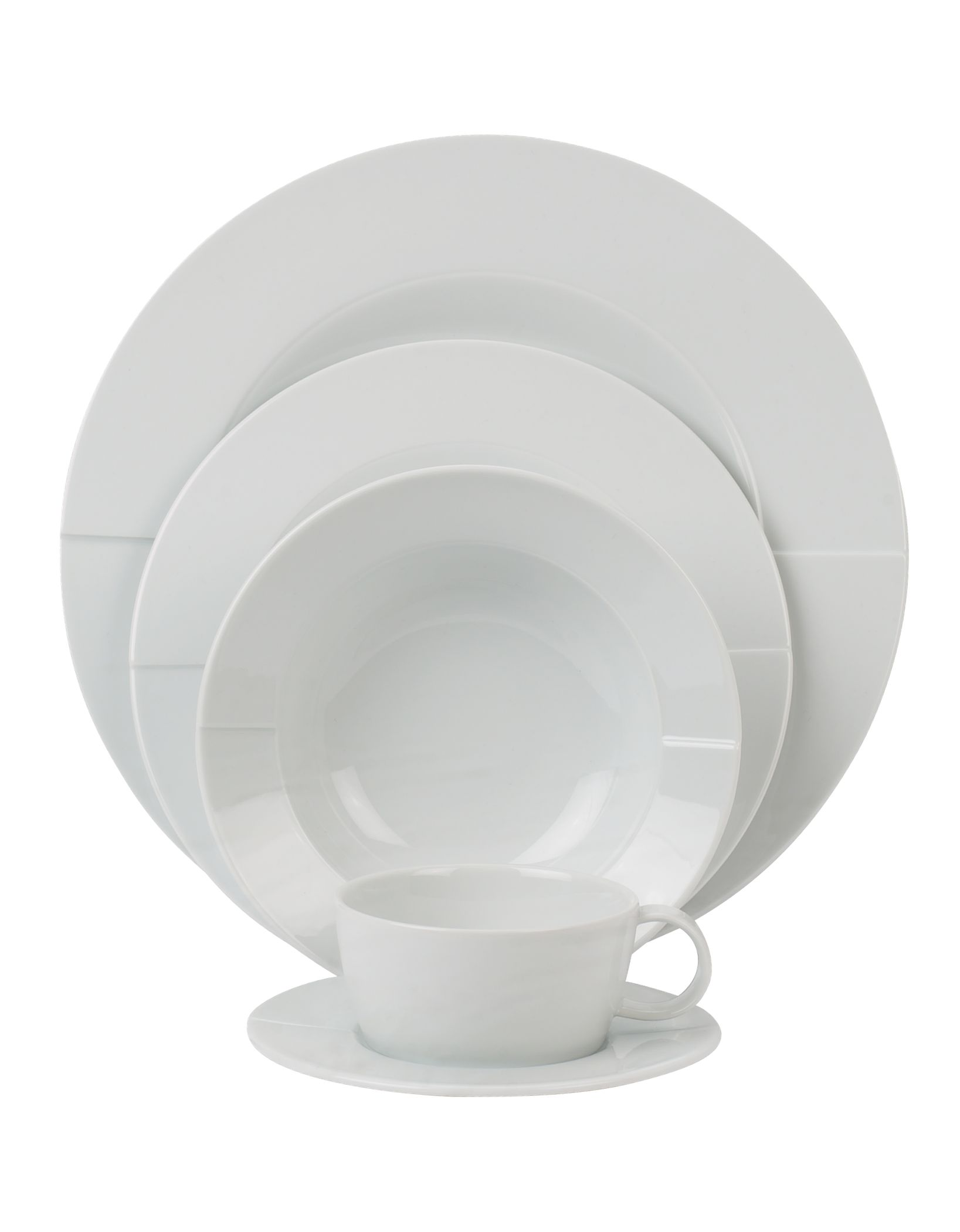 James Martin white dinnerware range