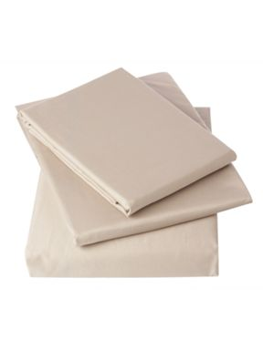 Linea 500 thread count bed linen in oyster