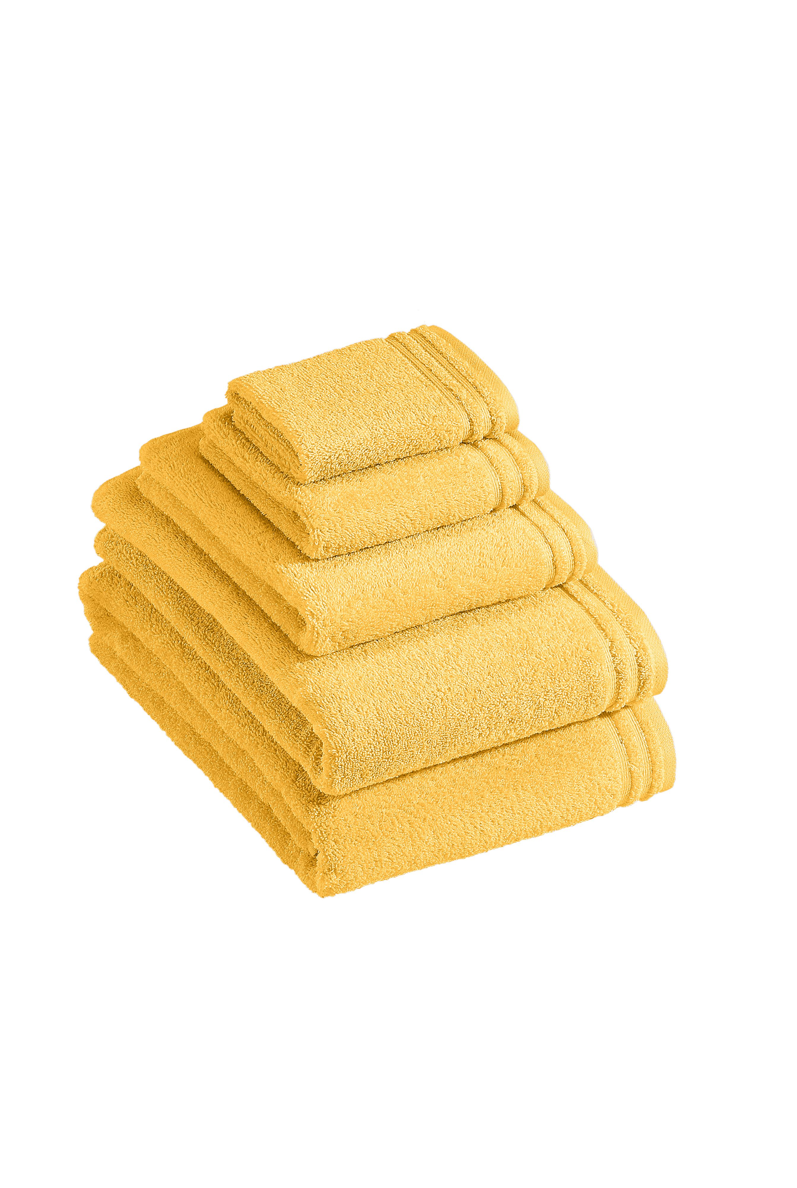 Calypso Feeling towel range in sunflower