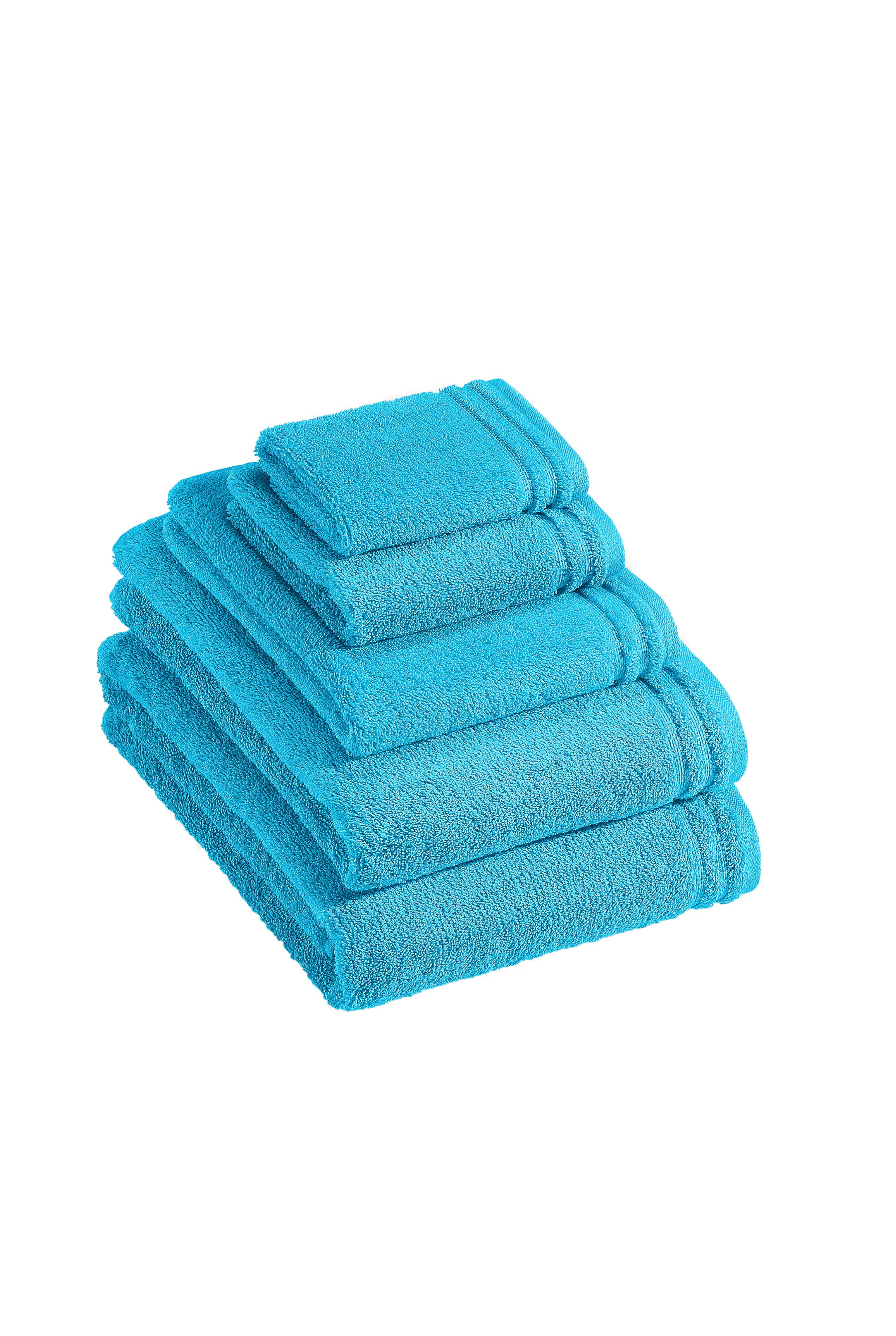 Calypso Feeling towel range in turquoise